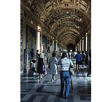 1580 Hall of Maps Vatican Museum Rome 19840718 0030 Photographic Print