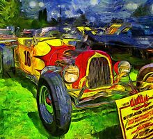1916 Willys Overland Roadster by Thom Zehrfeld