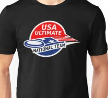 Team USA Ultimate Frisbee Unisex T-Shirt