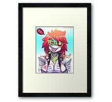 Nautica Myles Framed Print