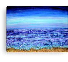 Water ribbons Canvas Print