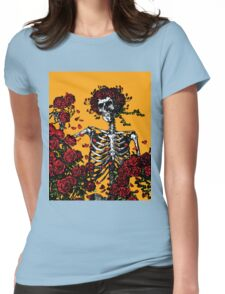 My Bloody Valentine Skeleton Womens Fitted T-Shirt