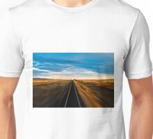Trans Siberian Train Lines Unisex T-Shirt