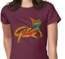 Party Lizard! Womens Fitted T-Shirt