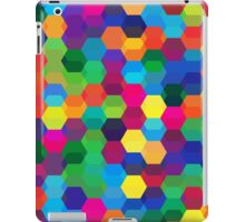 abstract geometric background iPad Case/Skin