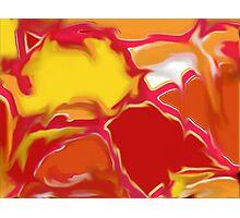 Squazzle Original Digital Abstract Art Design Photographic Print