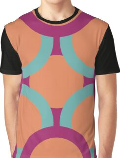 pattern of colored circles Graphic T-Shirt