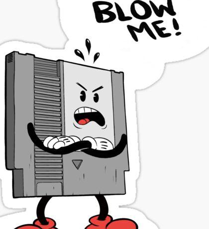 Blow Me NES  Sticker