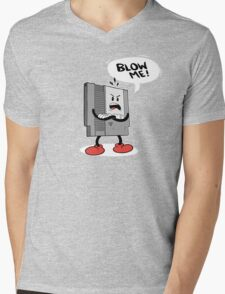 Blow Me NES  Mens V-Neck T-Shirt