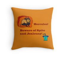 Hercules! Throw Pillow