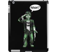 Brains? iPad Case/Skin