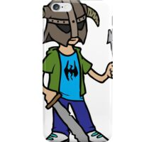 Skyrim Dragonborn Kid iPhone Case/Skin