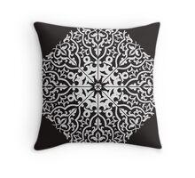 Circular pattern in arabic style.  Throw Pillow
