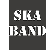 Ska Band Photographic Print