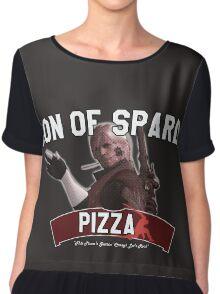 Son of Sparda Pizza Chiffon Top