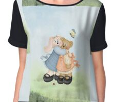 Beary Good Friends ~  Chiffon Top