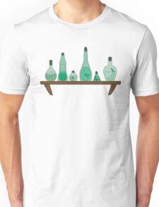 Green Potion Shelf Unisex T-Shirt