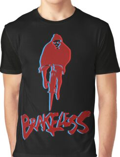 Brakeless Fixie/Fixed Gear 3D Graphic T-Shirt