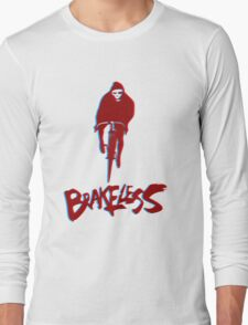 Brakeless Fixie/Fixed Gear 3D Long Sleeve T-Shirt