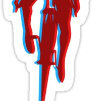 Brakeless Fixie/Fixed Gear 3D Sticker