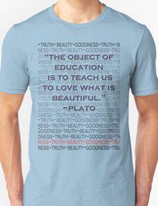 Education: For Beauty's Sake Unisex T-Shirt