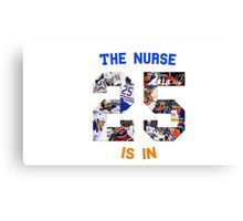The (Darnell) Nurse Is In Edmonton Oilers Canvas Print