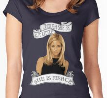 She Is Fierce Women's Fitted Scoop T-Shirt