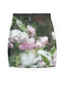 Frosted Almond Mini Skirt
