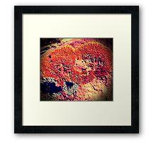 Russet Heart Framed Print