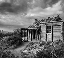 Craigs Hut , High Country, Victoria  by Christine  Wilson Photography