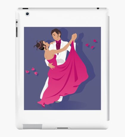 Couple dancing iPad Case/Skin