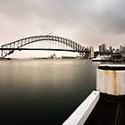 Harbour Sunrise - Sydney Australia by Norman Repacholi