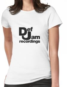 DJ Womens Fitted T-Shirt