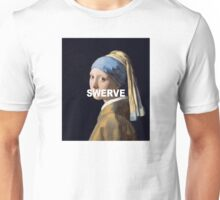 Swerve - Girl with the Pearl Earring Unisex T-Shirt
