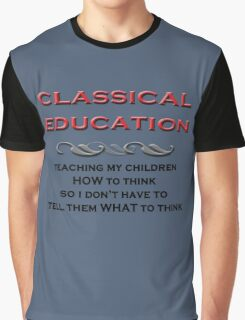 Classical Education Graphic T-Shirt