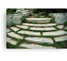 Ancient Stairway Canvas Print