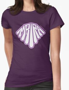 Bubble Style Mbira - Purples Womens Fitted T-Shirt