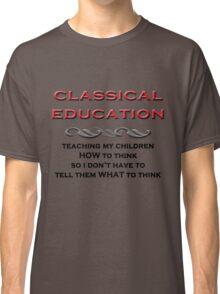 Classical Education Classic T-Shirt