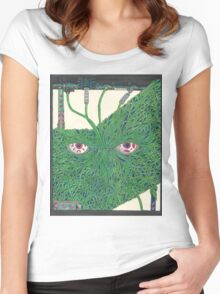 Machine Ghost Women's Fitted Scoop T-Shirt