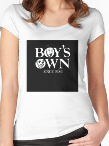 BOY'S OWN boys own Women's Fitted Scoop T-Shirt