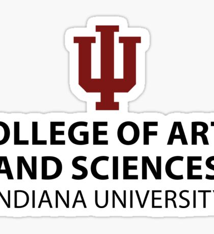IU College of Arts and Sciences Sticker Sticker