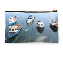Fishing Boats - Penzance, UK Studio Pouch
