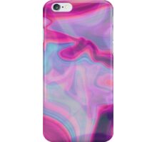 psychedelic hologram  iPhone Case/Skin