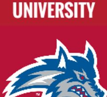 Stony Brook University Seawolves Sticker Sticker