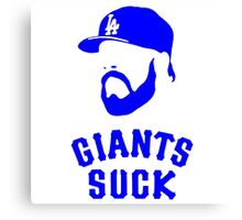 Giants Suck Canvas Print