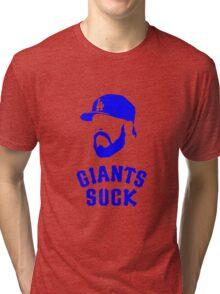 Giants Suck Tri-blend T-Shirt