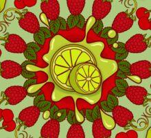 Red Fruit, Green Fruit Sticker