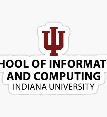 IU School of Informatics and Computing Sticker Sticker