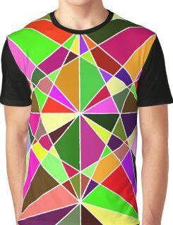 Warm Geometric Colours  Graphic T-Shirt