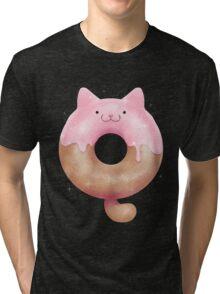 Kitty Kreme Doughnut Tri-blend T-Shirt